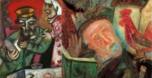 Marc Chagall és Ámos Imre képei közös kiállításon