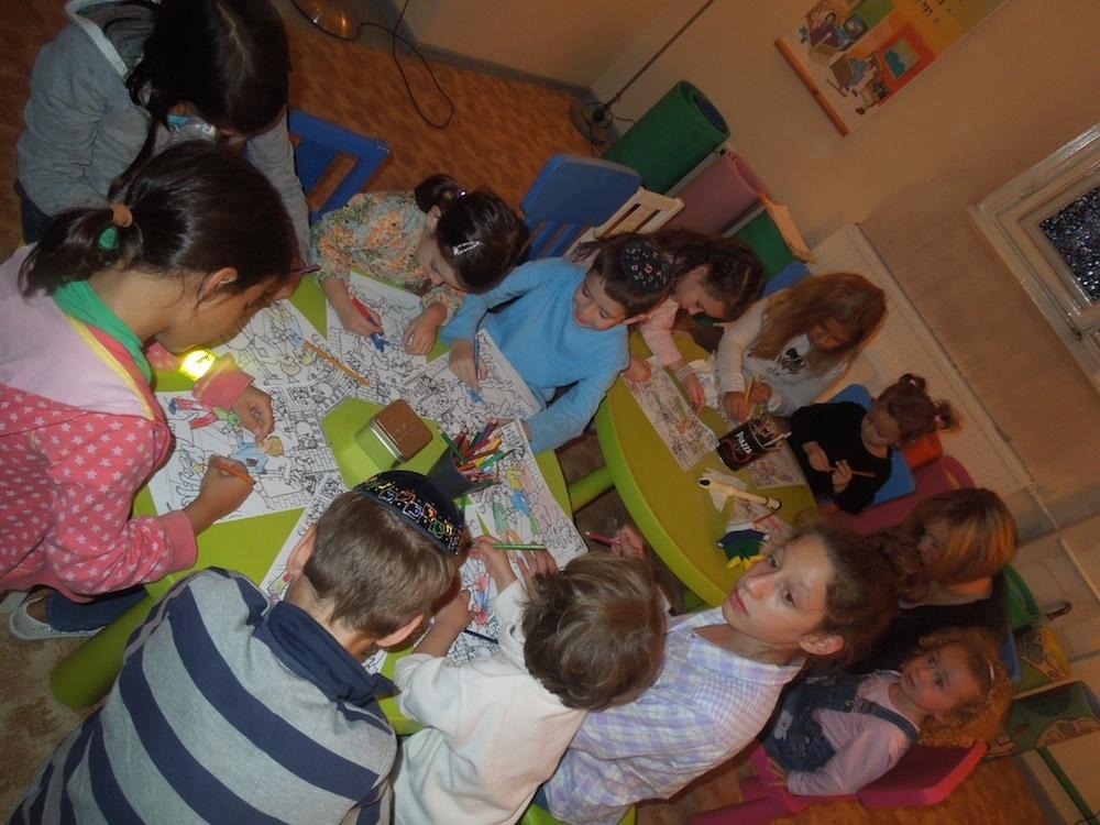 Szombatköszöntő foglalkozás gyerekeknek