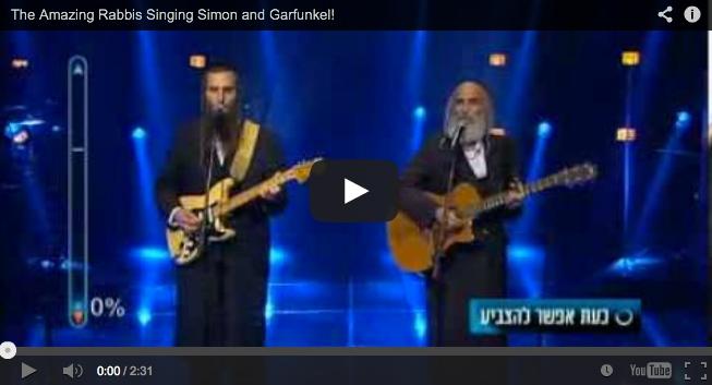 Rabbik Simon & Garfunkel-t énekelnek