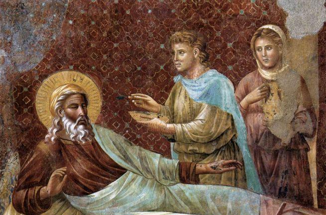 Ismeretlen festő - Izsák visszautasítja Ézsaut