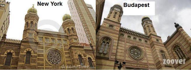 A világ két legnagyobb zsinagógája: a Central és a Dohány