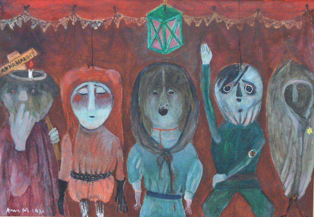 Messiásra váró bábuk – Anna Margit kiállítás