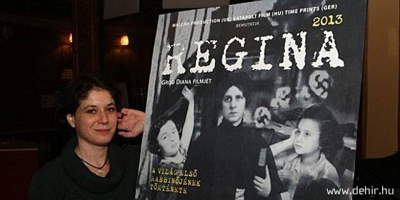Regina – londoni premier Rachel Weisz szinkronjával