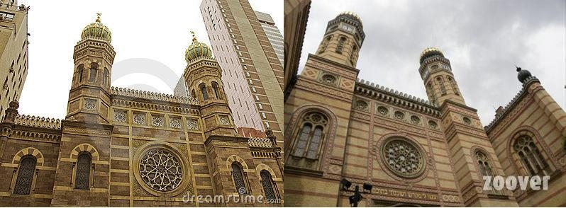 NEW YORK CENTRAL SYNAGOGUE BUDAPESTEN