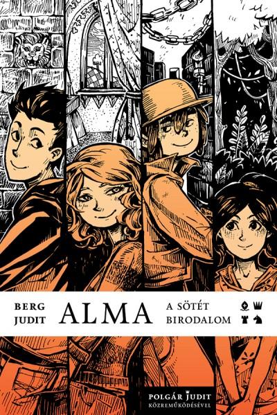 Alma - A sötét birodalom, borító