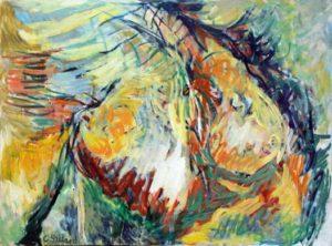 Szilárd Klára új festményei a Magyar Zsidó Múzeumban