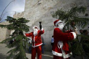 Karácsonyfát állítanának az izraeli parlament elé