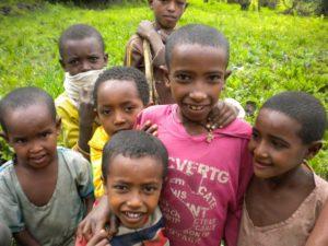 Izrael arcai – Etiópia