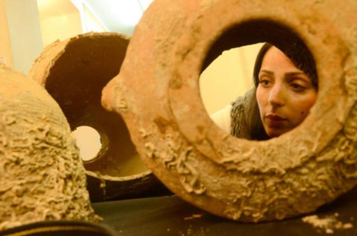 Háromezer éves agyagedényt őrzött otthon egy izraeli halász