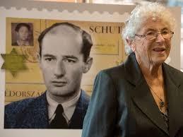 Weiszmann Judith, Raoul Wallenberg és a budapesti gettó