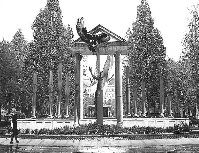 A Szabadság téri emlékmű látványterve