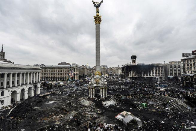 Majdan előtt-után