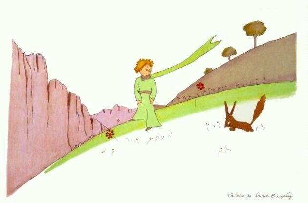 Zsidó felnőtt A kis hercegben