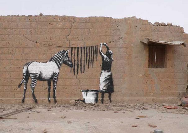 Így is lehet graffitizni!