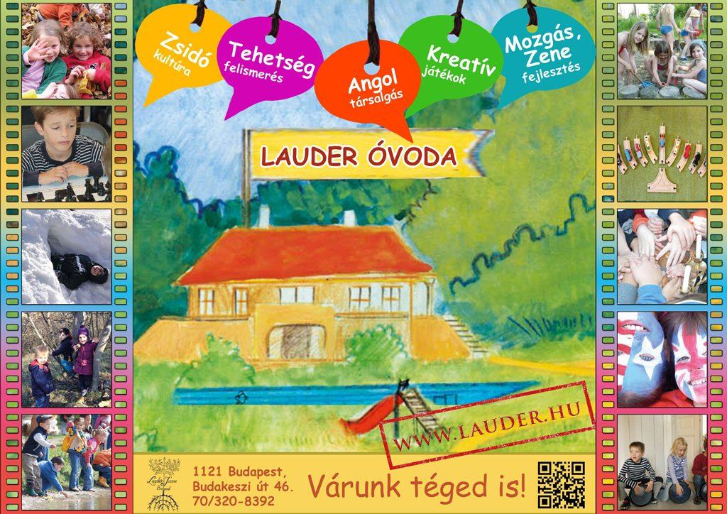 Ahol a fejlesztés maga a játék – Lauder Óvoda