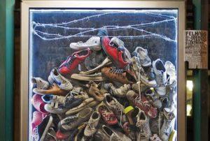 Igazi cipők a Holokauszt Emlékközpont kampányában