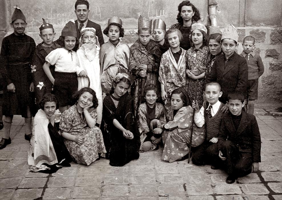 A háború utáni első purim Pesten