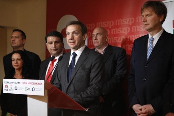 Bajnai Gordon és a kormányváltók (fotó: Dudás Szabolcs)
