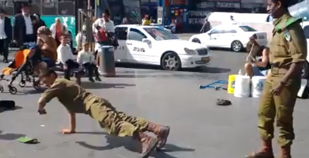"""""""Brékelő"""" izraeli katonák"""