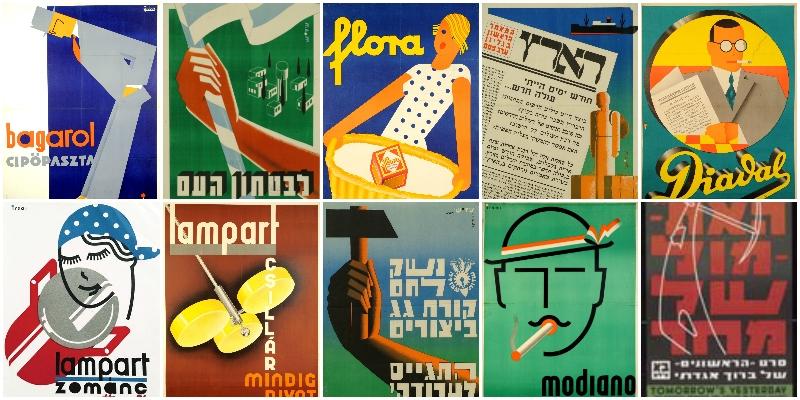 Kiállítás az Izraeli Kulturális Intézetben: Budapesttől Tel-Avivig – Irsai István modernista designer