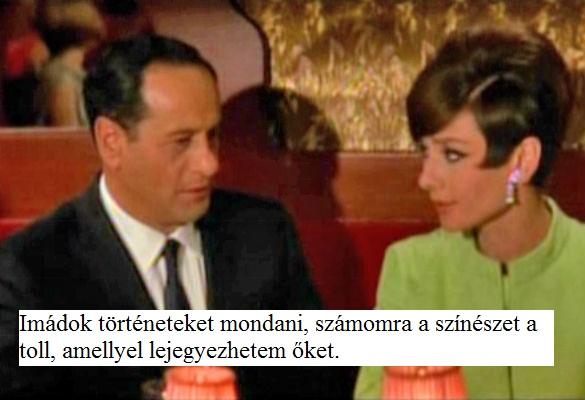 Audry Hepburnnel 1966-ban a Hogyan lopjunk el egymillió dollárt-ban