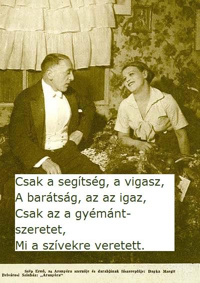 Szép Ernő és Dayka Margit