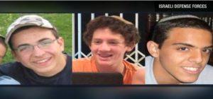 Megtalálták a három eltűnt izraeli tizenéves holttestét