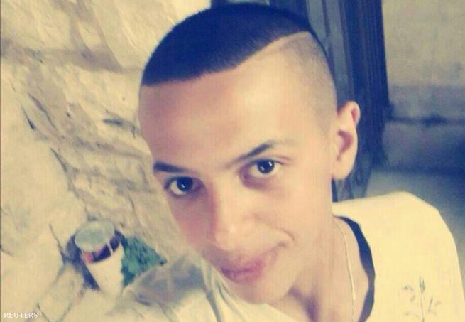 Mohamed Abu Kádir, a meggyilkol palesztin fiú
