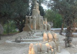 Fantasztikus homok-szobrok a tel-avivi tengerparton