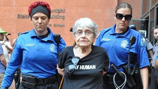 A 90 éves Hedy Epstein