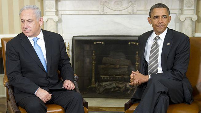 Obama és Netanjahu