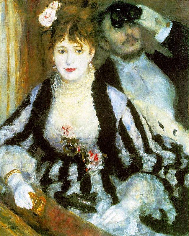 Renoir: La loge