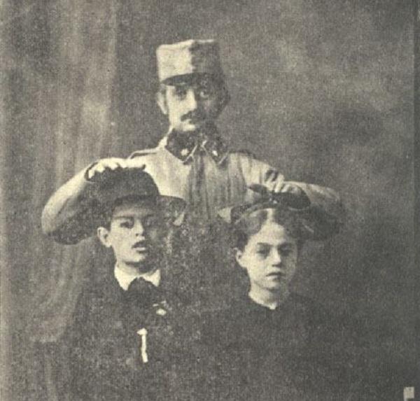 Magyar zsidó katonák ünnepi képeslapokon