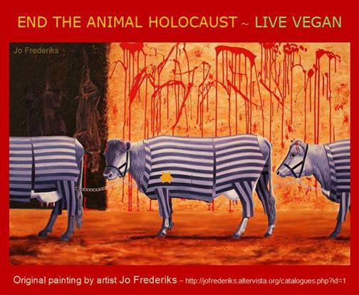 """Zsidó csoportokat bőszített fel az """"Állat holokauszt"""" című kiállítás"""
