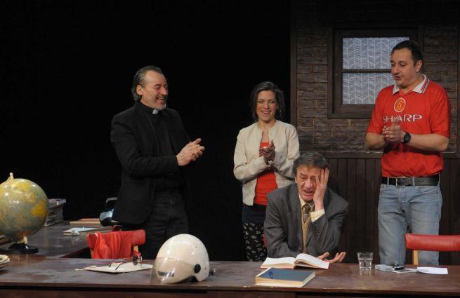 Tamási Zoltán, Sárközi-Nagy Ilona, Mucsi Zoltán, Katona László (balról jobbra) Fotó: K 2 PRESS