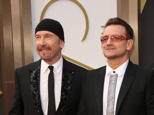 The Edge és Bono