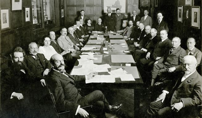 A JDC ülése 1918-ban