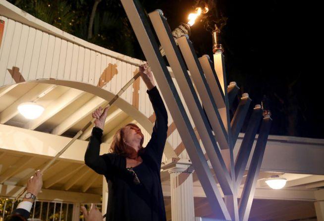 Shirley Sotloff, az ISIS által idén meggyilkolt Steven Sotloff újságíró édesanyja, Pinecrest, Florida