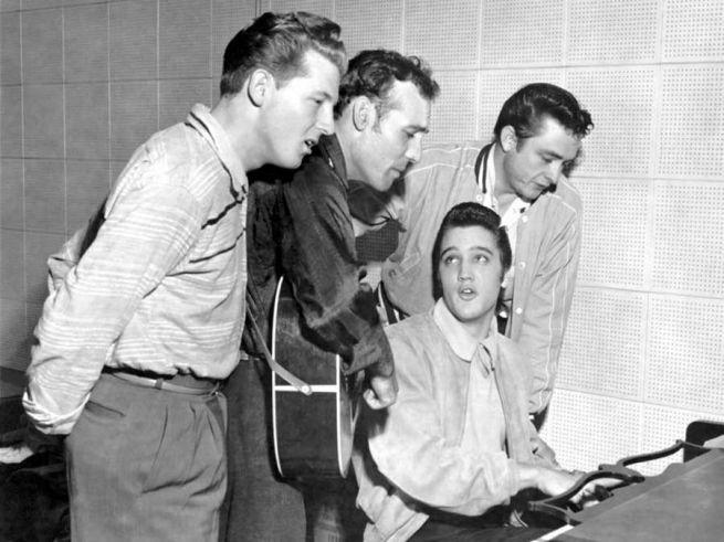 Elvis stúdiómunkán 1956-ban