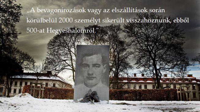 Wallenberg emlékmű Stockholmban