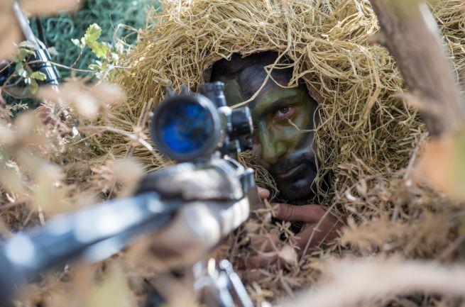Drúz katona Észak-Izraelben