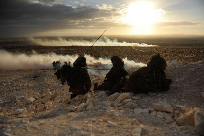 Az IDF beduin részlege gyakorlatozik Dél-Izraelben