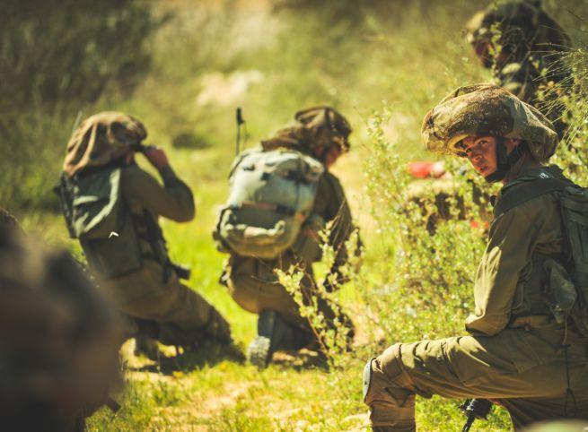 A Givati Brigád intenzív kiképzésen