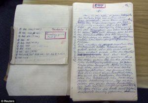 Elárverezik Adolf Eichmann naplóját