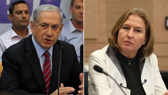 Netanjahu és Cipi Livni