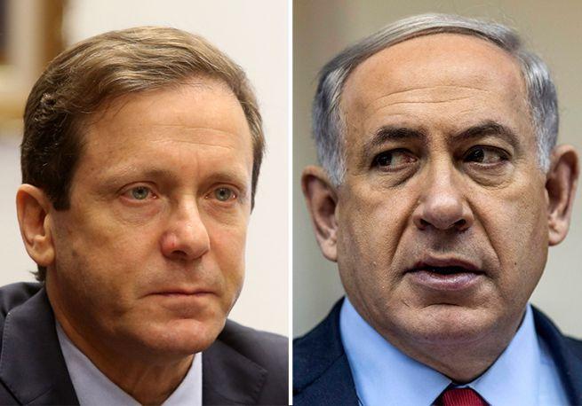 Hercog és Netanjahu
