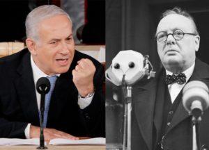 Netanjahu beérte Churchillt