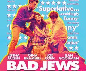 Kitiltották a londoni metróból a Bad Jews plakátját