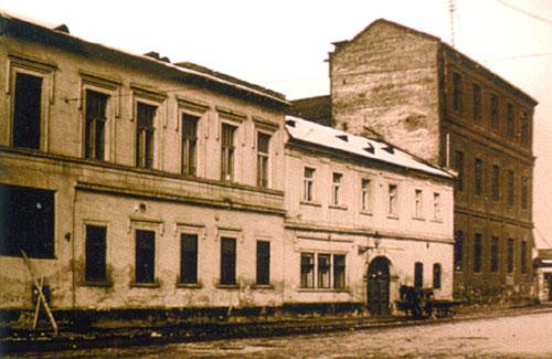 A Goldberger gyár Óbudán