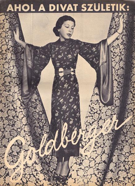 Reklámkép a 30-as évekből